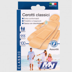 Cerotti Classici - 100 pz assortiti