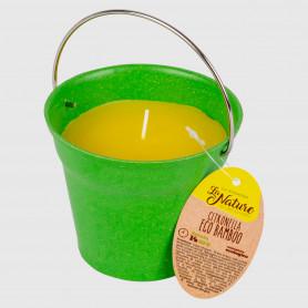 Candela alla citronella Eco Bamboo