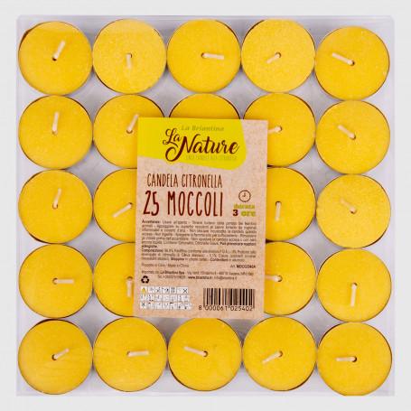 Moccoli alla citronella - 25 pz