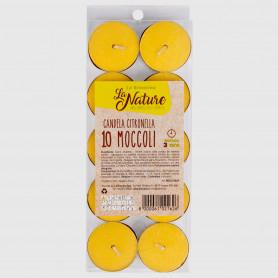 Moccoli alla citronella - 10 pz