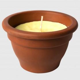 Vasetto maxi in terracotta alla citronella
