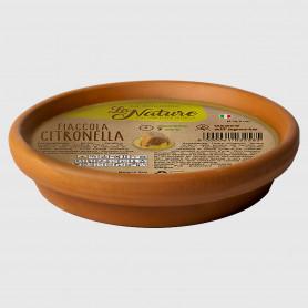 Fiaccola alla citronella in terracotta - Diametro 16,5 cm