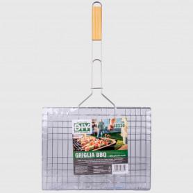 Griglia in acciaio per BBQ - 40x30 cm