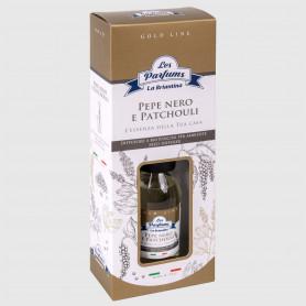 Diffusore a bastoncini Gold Line - Pepe Nero e Patchouli - 125 ml