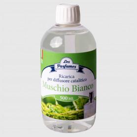 Ricarica diffusore catalitico al Muschio Bianco - 500 ml