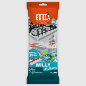Panni Willy - Multiuso - 20 pz