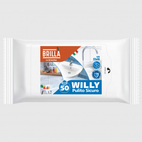 Panni Willy - Pulito Sicuro - 50 pz