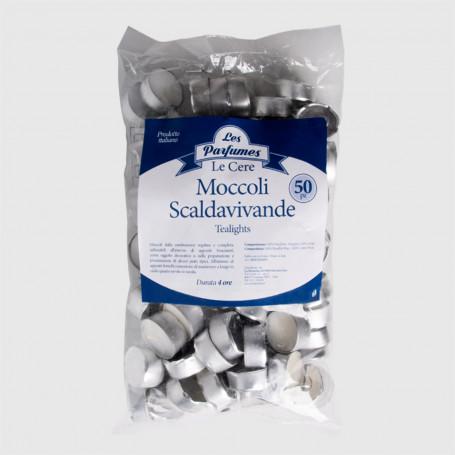 Moccoli Scaldavivande in sacchetto - 50 pz