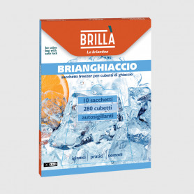 Brianghiaccio Sacchetti cubetti