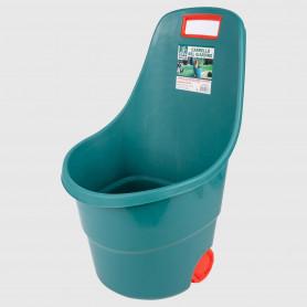 Carrello da giardino con ruote Bel Giardino - 76 litri