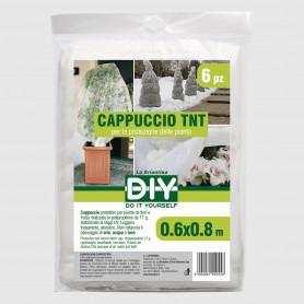 Cappuccio TNT bianco 0,6x0,8 m - 6 pz