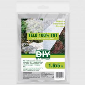 Telo TNT bianco 1,6x5 m - 1 pz