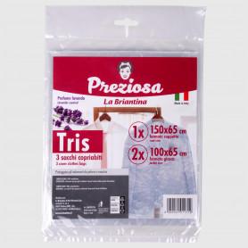 Sacchi copriabiti Tris assortiti - 3 pz