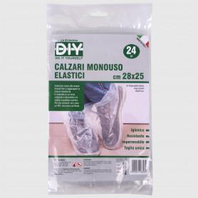 Calzari monouso elastici 28x25 cm - 24 pz