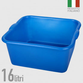 Bacinella in polietilene 16 litri