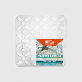 Tappeto lavello Safe quadrato con ventose
