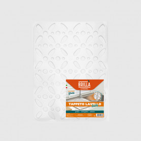 Tappeto lavello Safe rettangolare con ventose