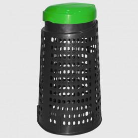Cestino trespolo - Verde - 110 litri