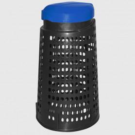 Cestino trespolo - Blu - 110 litri