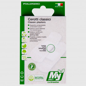 Cerotti Eco Compostabili classici assortiti - 30 pz