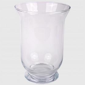 Vaso portacandela Amelia in vetro - diam. 14 cm - h. 19 cm