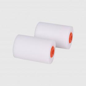 Rulli pittura 5 cm - spugna bianca - 2 pz