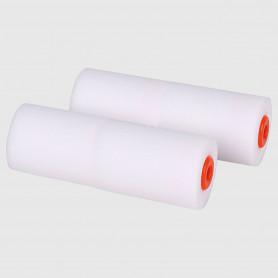Rulli pittura 10 cm - spugna bianca - 2 pz