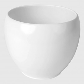 Vaso tondo Osimo - bianco