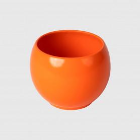 Vaso tondo Orte - arancione