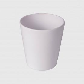 Vaso conico Rho - bianco