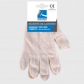 Guanti da lavoro in cotone a maglia - tg 7 S