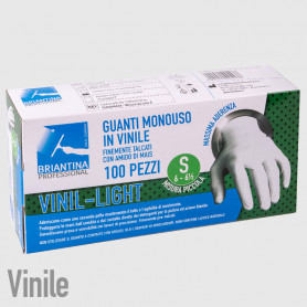 Guanti Vinil Light S - 100PZ - NON DISPONIBILE