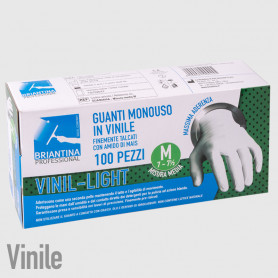 Guanti Vinil Light M - 100PZ - NON DISPONIBILE