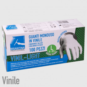 Guanti Vinil Light L - 100PZ - NON DISPONIBILE