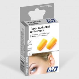 Tappi auricolari antirumore - 4 pz