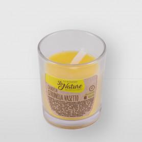 Candela vasetto alla citronella
