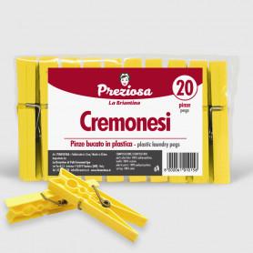 Pinze bucato Cremonesi - 20 pz