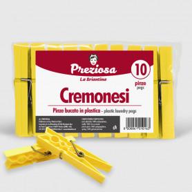 Pinze bucato Cremonesi - 10 pz