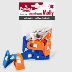 Pinze bucato Molly - 10 pz