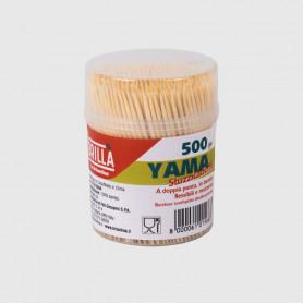 Stuzzicadenti Yama - barattolo 500 pz