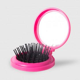 Specchio con spazzola tondo