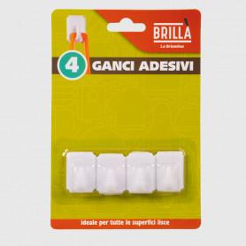 Ganci adesivi - 4 pz