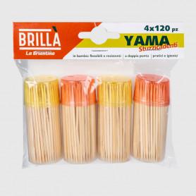Stuzzicadenti Yama Risparmio 4 x 120 pz