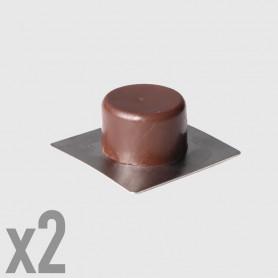 Fermaporta adesivi - 2 pz