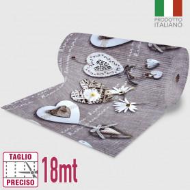 Passatoia Inkjet Love - 52cm x 18mt