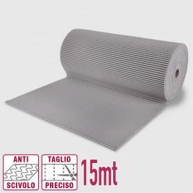 Passatoia maxi pvc roll grigio - 65cm x 15mt