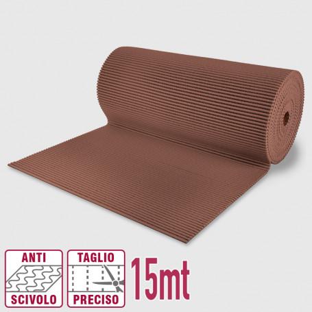 Passatoia maxi pvc roll caffè - 65cm x 15mt Passatoie