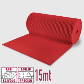 Passatoia maxi pvc roll rosso - 65cm x 15mt