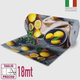 Passatoia Inkjet Lemon - 52cm x 18mt