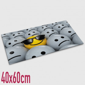 Tappeto digitale Emozioni - 40x60 cm